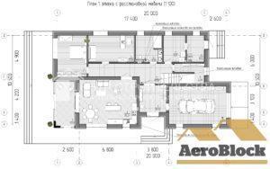планировка роскошного здания