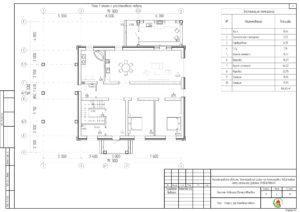 план первого этажа холмогоровка