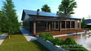 Рабочий проект дома в Калининграде