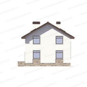 Проекты домов и коттеджей для узких участков