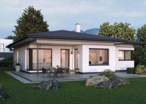 проект одноэтажного дома 100 квадратов