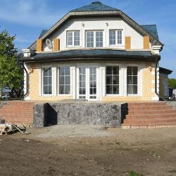дом с мансардой в калининграде под ключ