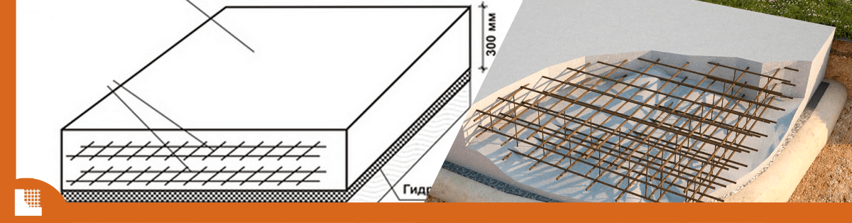 Плитный фундамент в калининградской области