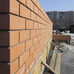 облицовка стен кирпичом в калининграде