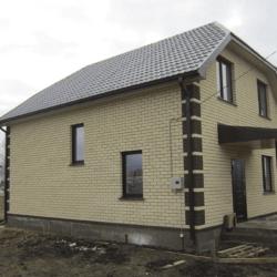 Строительство дома с мансардой 115 м2 под ключ