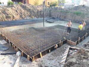заливка фундамента в зеленоградске