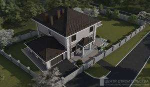 Современный проект частного дома в калининграде