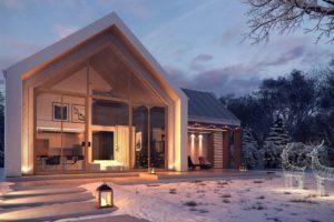 Проект современного дома калининград