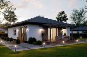 100 квадратный проект частого дома калининград