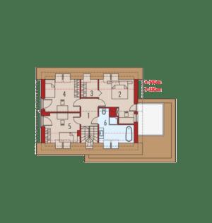 План помещений дома от 150 до 200 в калининграде